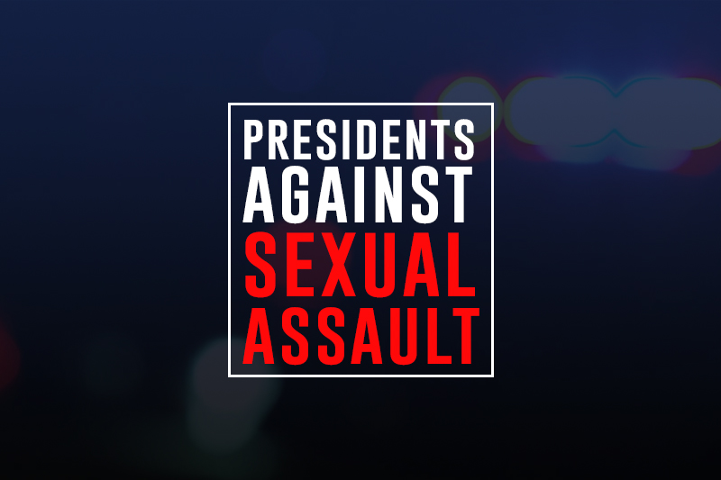 presidents against sexual assault