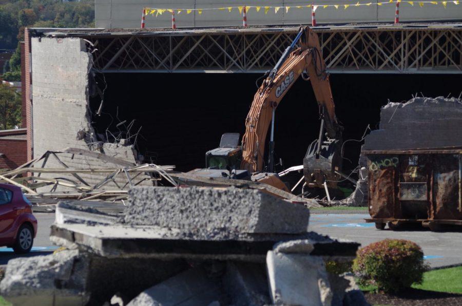 Demolition Begins on the Sewall Center