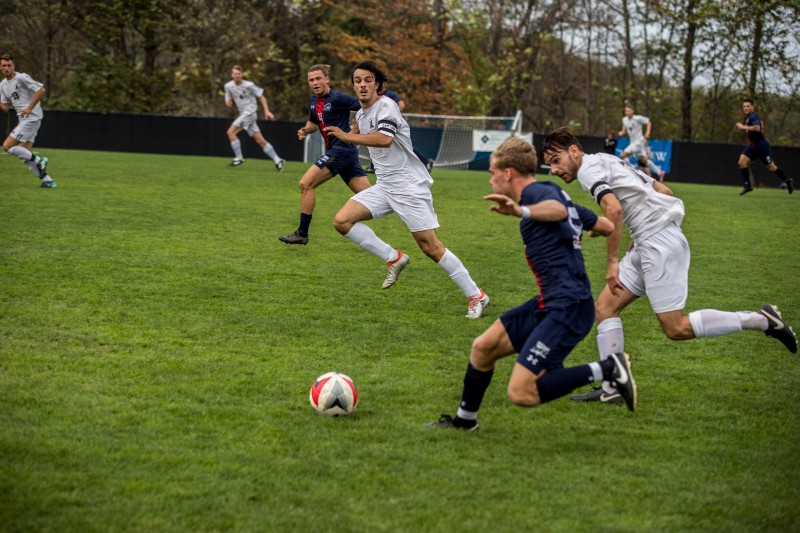On+Sunday%2C+October+15th+the+RMU+Men%27s+Soccer+team+took+on+Fairleigh+Dickinson+at+1pm.