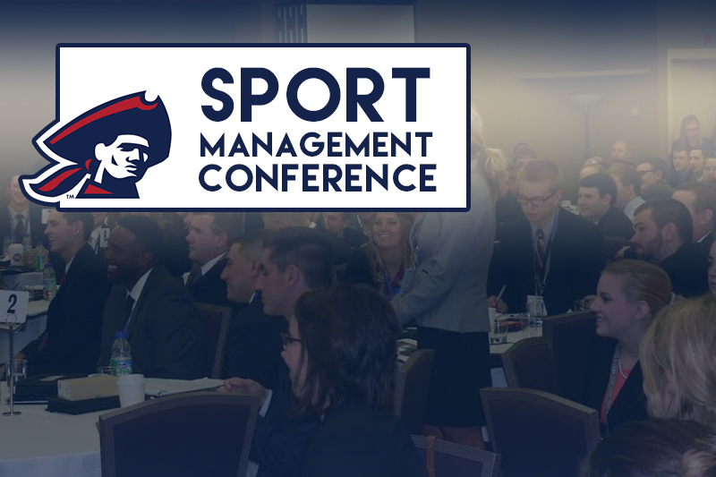 RMU+students+network+with+professionals+at+the+annual+Sports+Management+Student+Summit