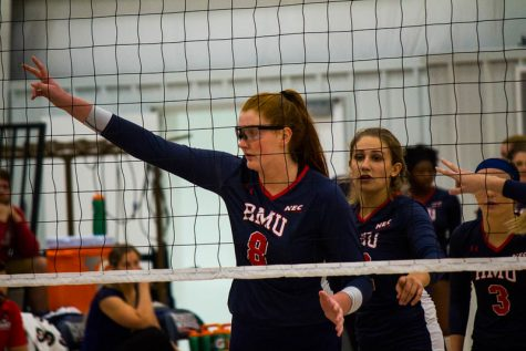 Colonials break losing streak with four-set win over LIU Brooklyn
