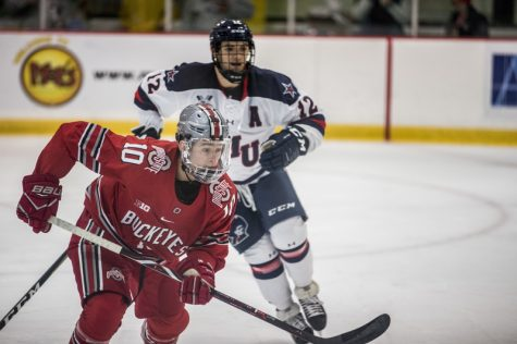 Buckeyes overpower Colonials in home-and-home series finale