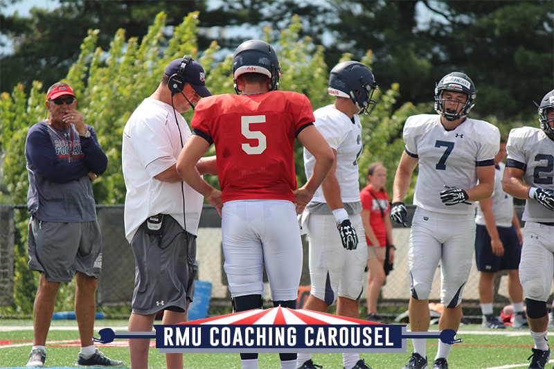 RMU football coaching candidate: Offensive coordinator Mike Miller