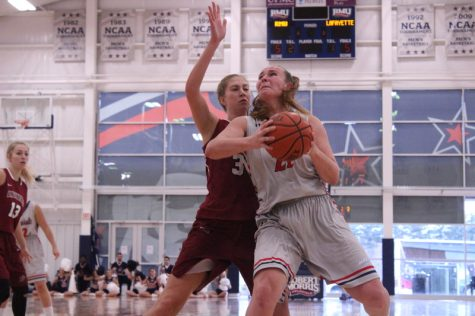Colonials continue hot streak in second-half dismantling of Lafayette