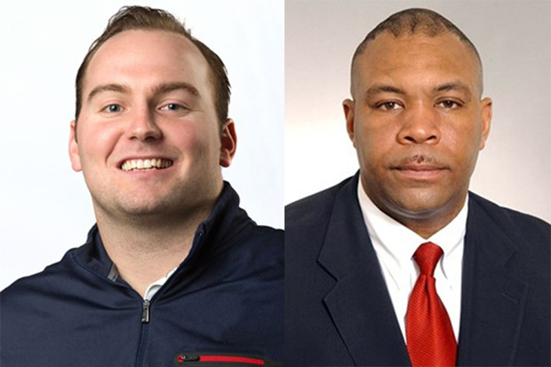 Holder and Cooper join football staff