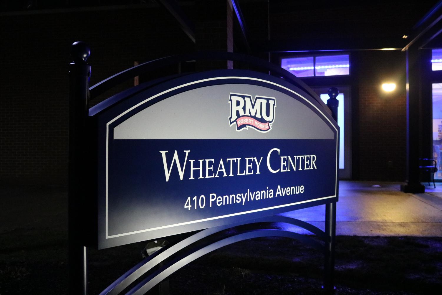 Wheatley Center on the campus of Robert Morris University houses the School of Communication and Information Systems.