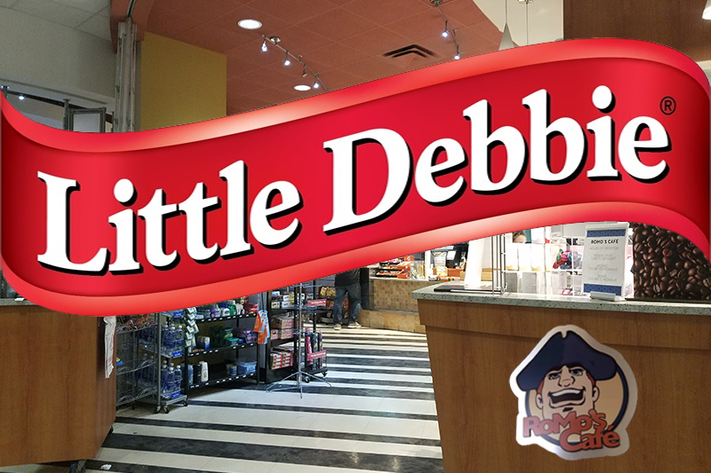 Little Debbie is now available to purchase at Robert Morris University.