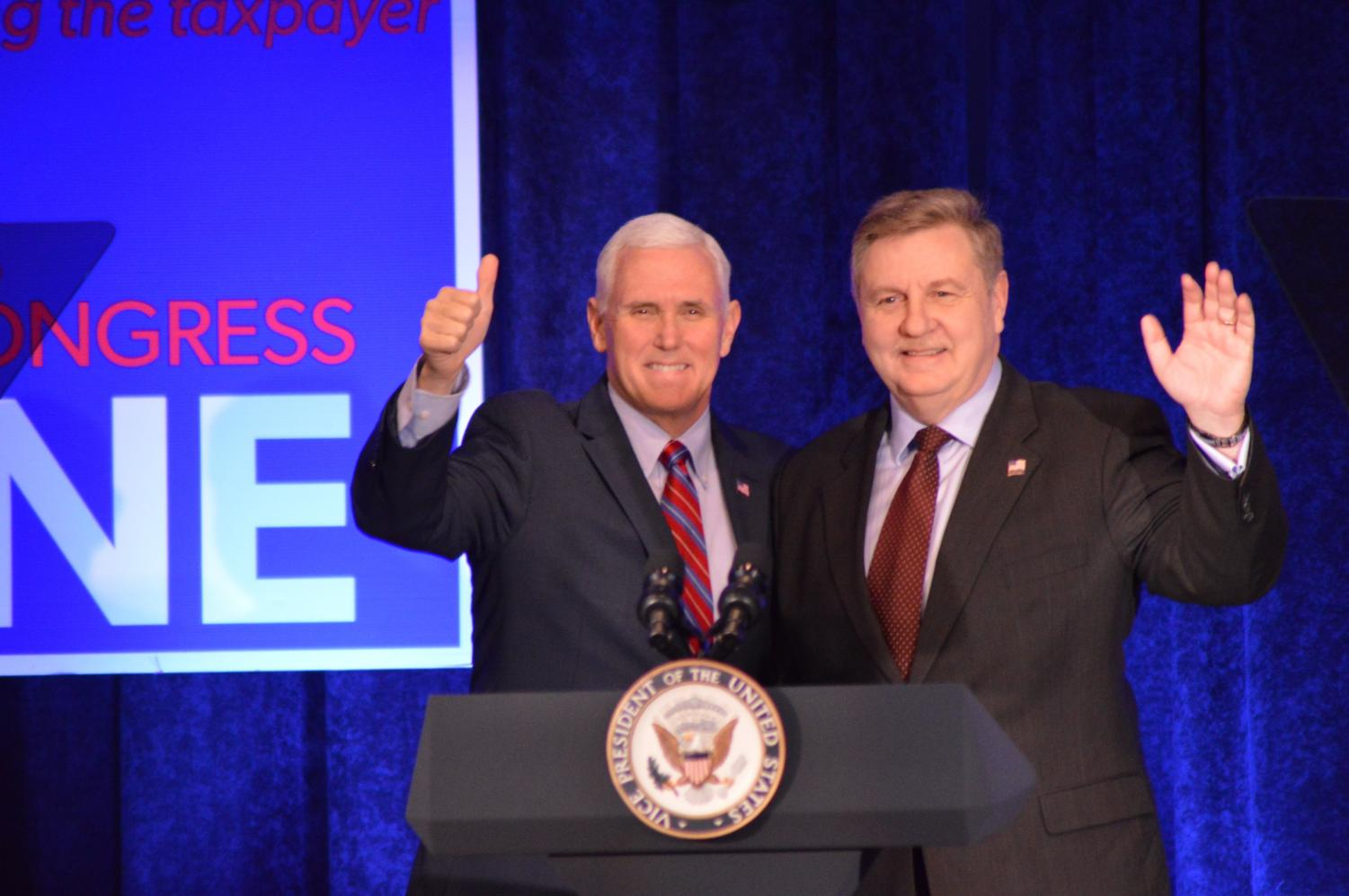 Vice President Mike Pence visits Bethel Park.