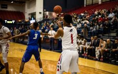RMU mens basketball battles to keep season alive in the NEC quarterfinals