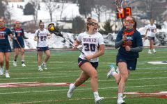 Women's lacrosse team look to take their home opener against Golden Griffins.