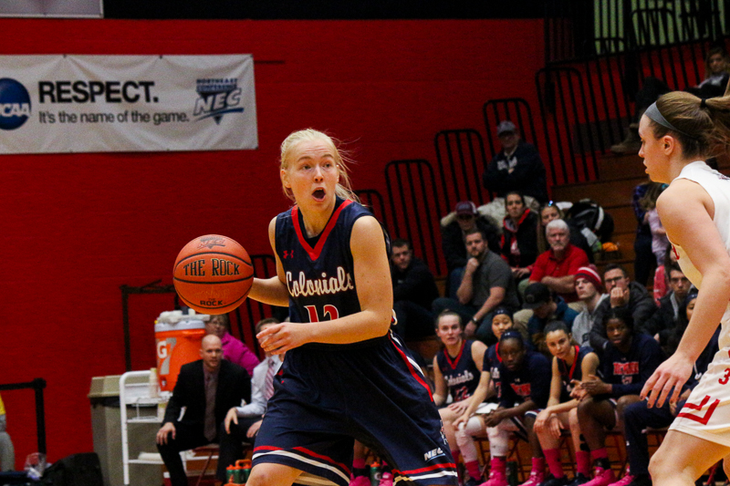Robert Morris women's basketball suffered their first conference loss to Saint Francis when they visited the Red Flash in Loretto on Saturday Photo credit: Gregory Sutton