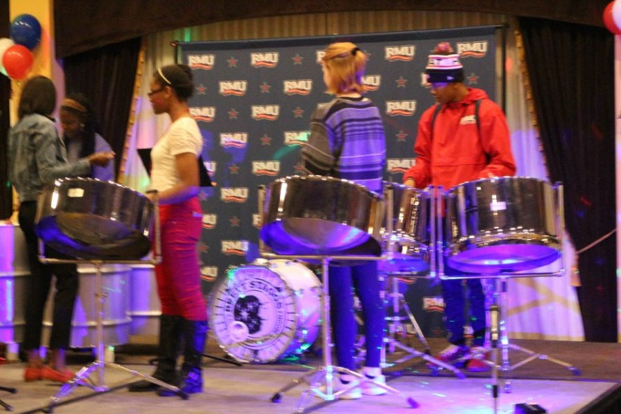The Center for Global Engagement held its annual Global Karneval in Yorktown Hall on Tuesday, March 20th, 2018. Students had the opportunity to partake in numerous international activities such as Salsa Dancing lessons and Steel Drum music.