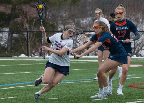 Women's lacrosse ends losing streak against St. Bonaventure