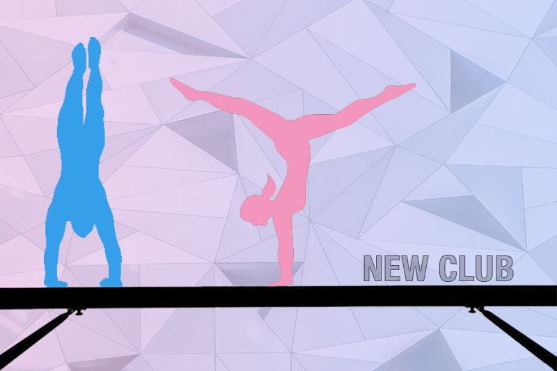 Club starts for coed gymnasts