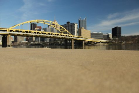 Downtown Pittsburgh skyline