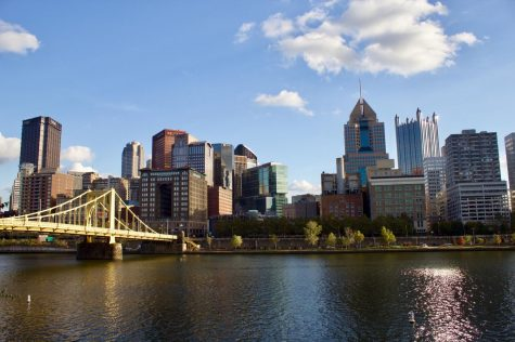 Pittsburgh Skyline from North Shore