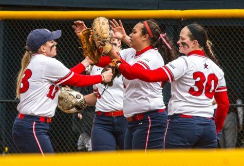 Softball splits series with Mount St. Mary's