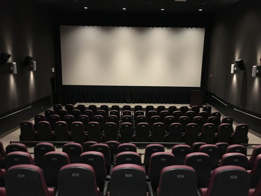 The screening room at the Tull Family Theater. Photo credit: Garret Roberts
