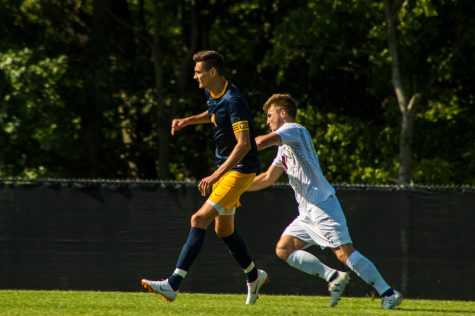 Men's soccer falls to Detroit Mercy 1-0 in the RMU/Duquesne Tournament
