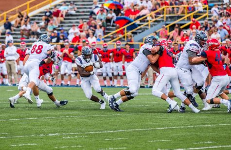 Coach Clark says Colonials showed a lot of resilience, but tackling is still an issue
