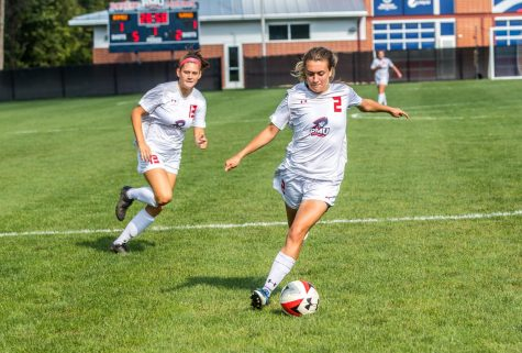 Preview: RMU women's soccer searches for consistency as they take on Akron