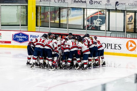 Preview: RMU women's hockey to start their season off against St. Lawrence
