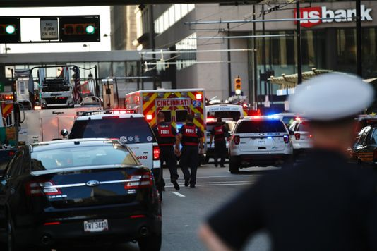 Four people dead following downtown Cincinnati shooting