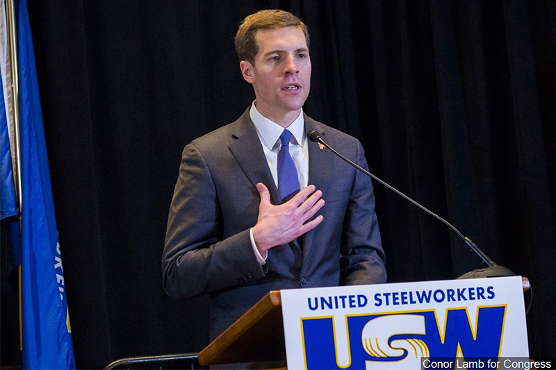 Photo Credit MGN online/Conor Lamb for Congress