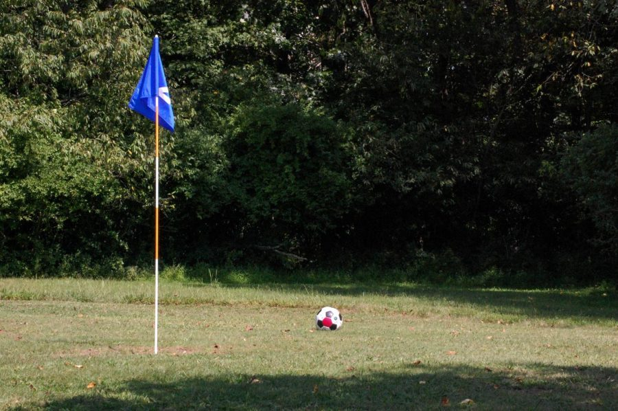 Athletes getting a kick at new soccer golf course.