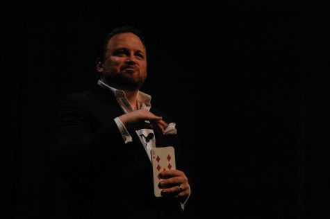 Magician Micheal Misko takes center stage on RMU's campus