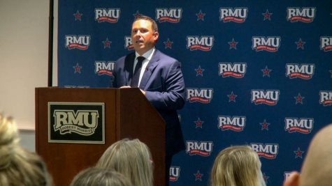 President of Arby's Rob Lynch visits RMU