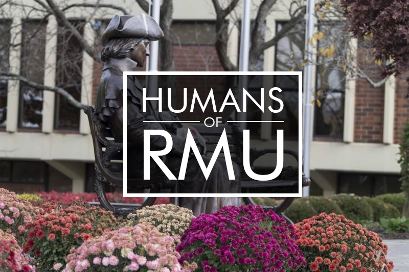 Humans of RMU: The Guitar Player