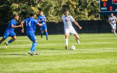 Preview: Men's soccer hosts Blackbirds and Blue Devils this weekend