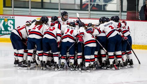 RMU women's hockey wins 2-0 on Halloweekend