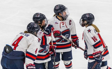Colonials skate to tie with Lions