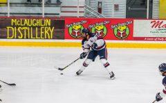 Black Knights defeat RMU men's hockey in final game of series