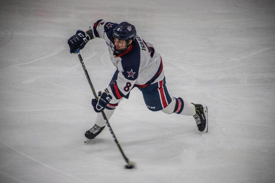 Men's hockey splits with RIT after falling in game two