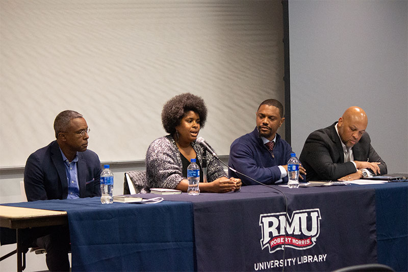 Campus library hosts panel discussion about race in America