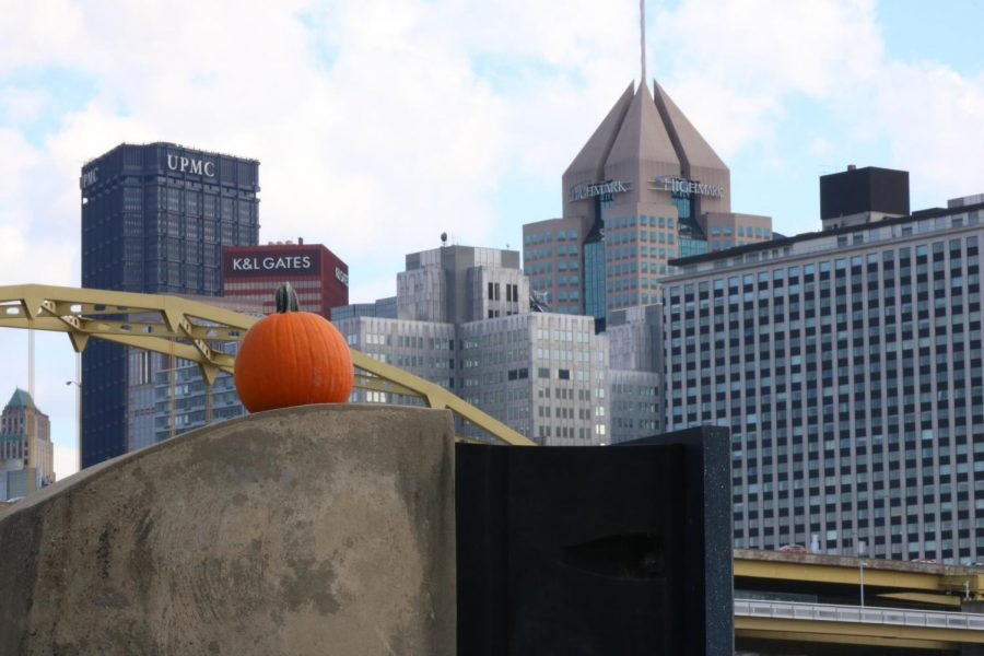 Thousands+of+people+traveled+to+the+North+Shore+riverwalk+to+enjoy+the+first+Monster+Pumpkin+Festival+in+Pittsburgh+Oct.+20+and+21.