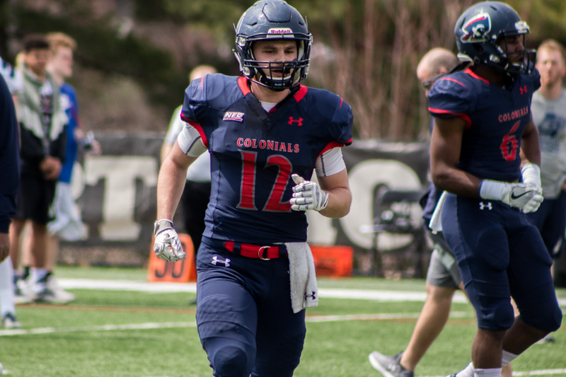 Offense shines as Colonials fall on homecoming day