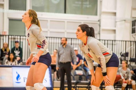 Colonials pick up third straight NEC victory