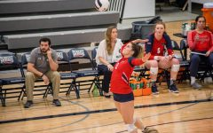 Volleyball falls on senior night