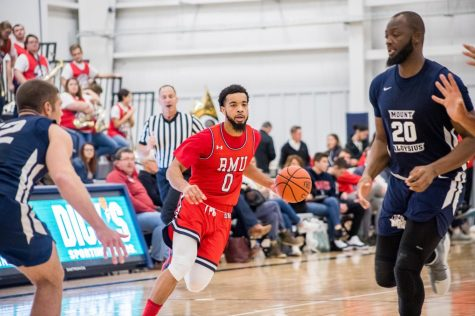 Josh Williams has a record breaking night as RMU cashes in against Mount Aloysius