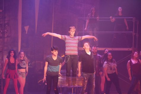 American Idiot rocks the audience at  Massey Theater