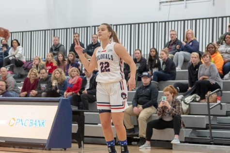 Colonials lose tight game against Columbia