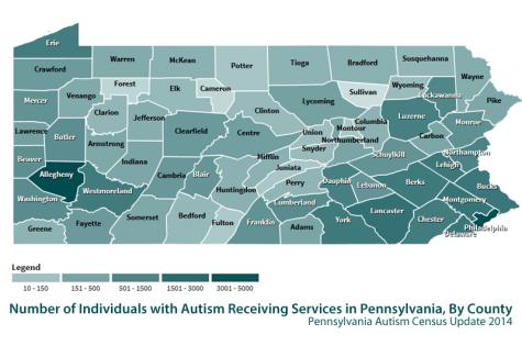 Autism Census Map