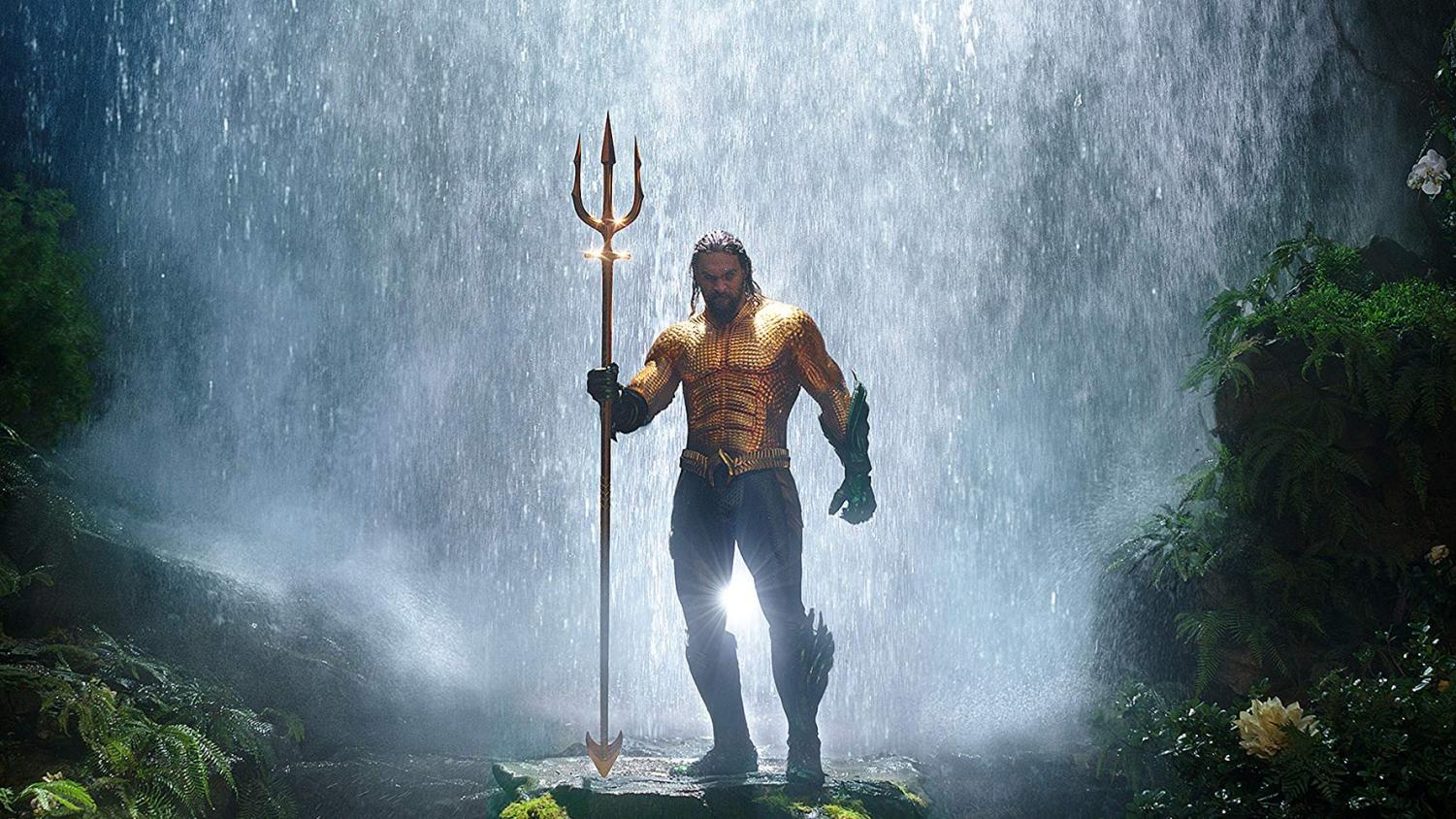 Jason Momoa as the DC hero Aquaman. Warner Bros.