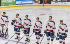 Men's hockey extends losing streak to four games after tough battle with Bentley