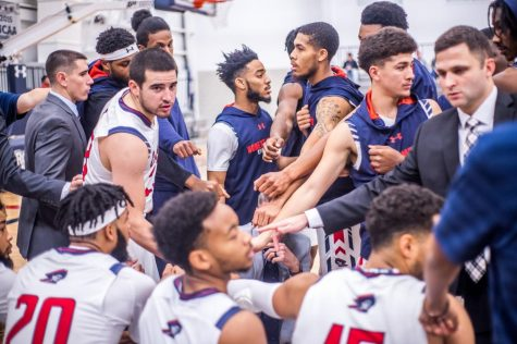 Colonials start off NEC season play with win over Knights
