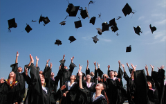 Newly Graduated People Wearing Black Academy Gowns Throwing Hats Up in the Air. Photo Credit: (Pexels)